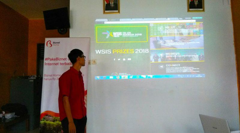 Voting Puspindes dalam Ajang WSIS PRIZE 2018